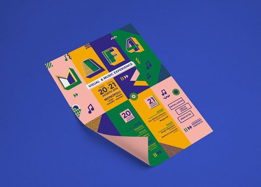 Flyer design: Montserrat