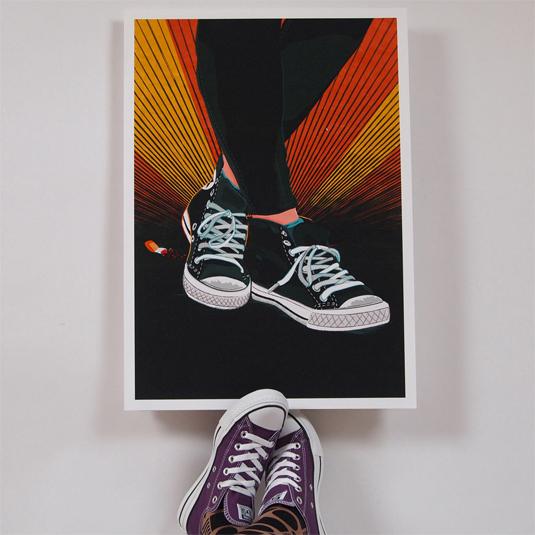 sneaker prints