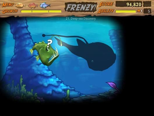 Feeding frenzy 2 shipwreck showdown xbox live arcade for Feed and grow fish free download full game