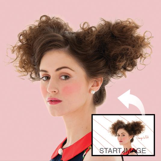Photoshop CS6: cut out hair with Refine Edge