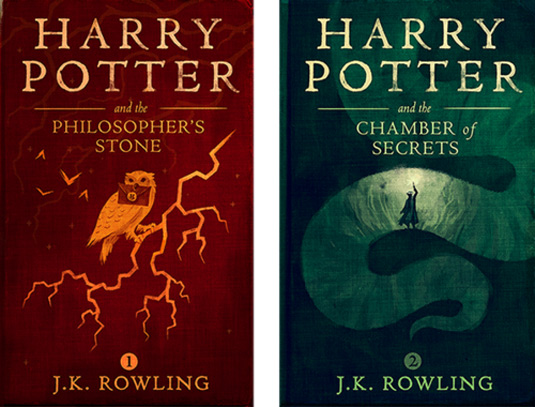Digital Harry Potter covers