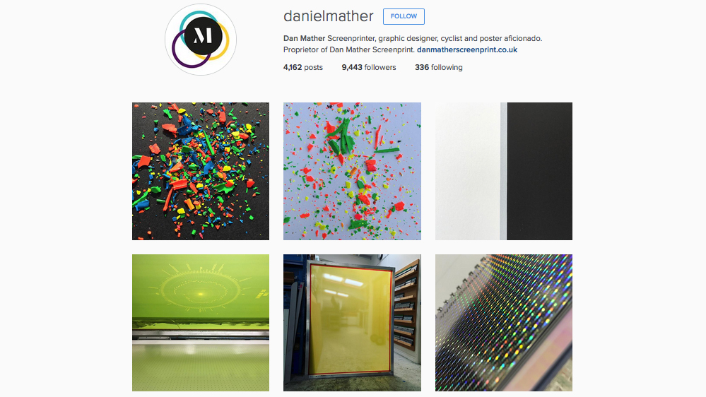 Graphic designers to follow on Instagram: Dan Mather