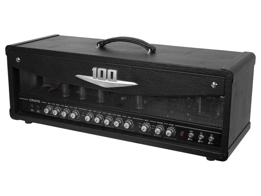 crate adds 100 watt head to v series amp line up musicradar. Black Bedroom Furniture Sets. Home Design Ideas