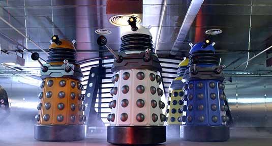 Dalek designs: New Paradigm Dalek