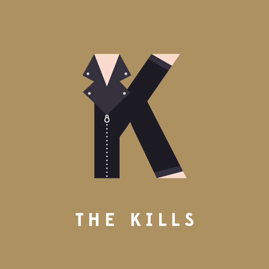 the kills typography