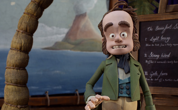 Still from So You Want To Be A Pirate? - the latest animated short by Aardman Animation