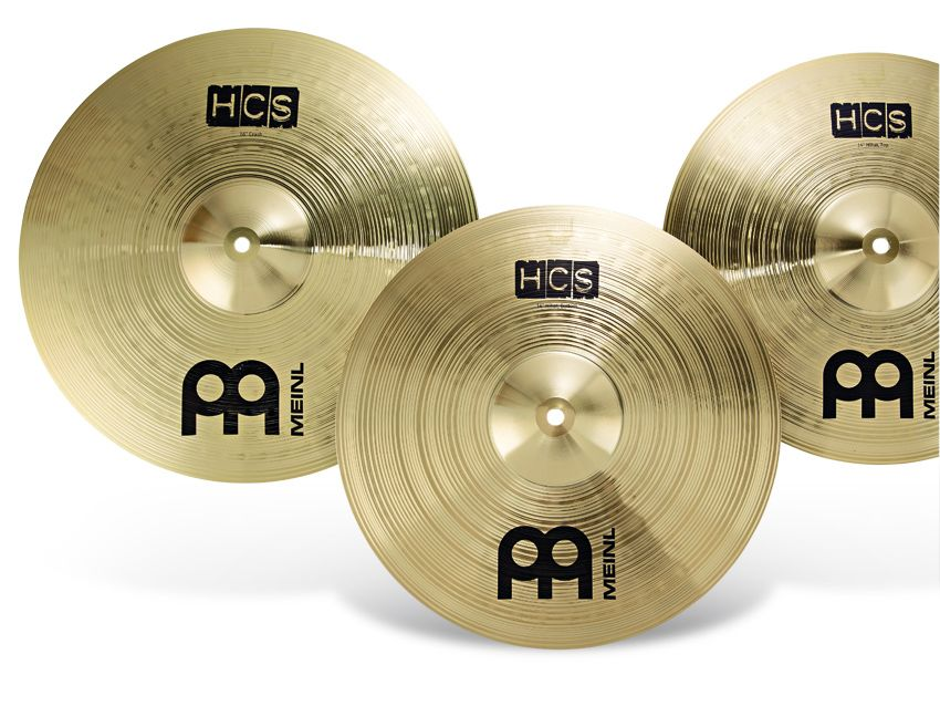 meinl hcs cymbal pack review musicradar. Black Bedroom Furniture Sets. Home Design Ideas