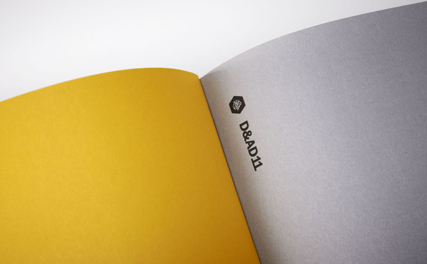 Detail from the D&AD Annual 2011