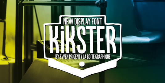 Kikster font