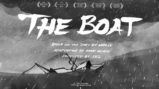 JavaScript examples: The Boat