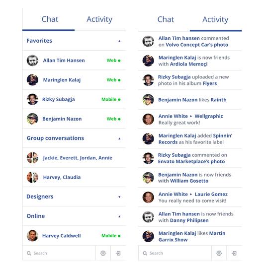 Facebook concept design
