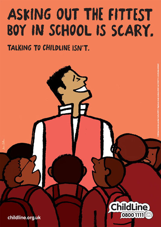 new Childline campaign