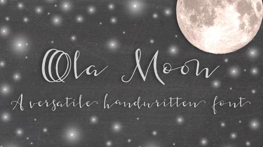 Ola Moon font