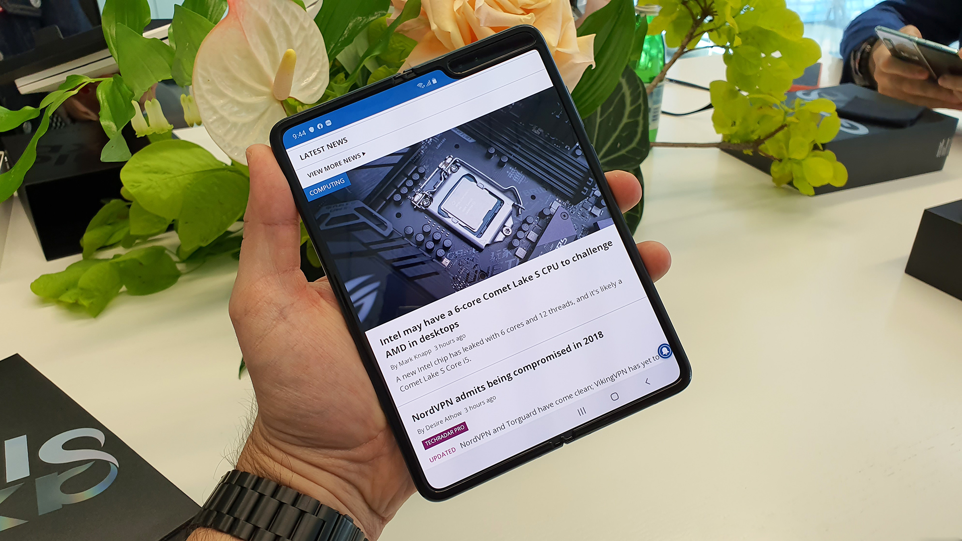 Samsung Galaxy Fold 2 might debut with a key Galaxy Note 20 feature inside