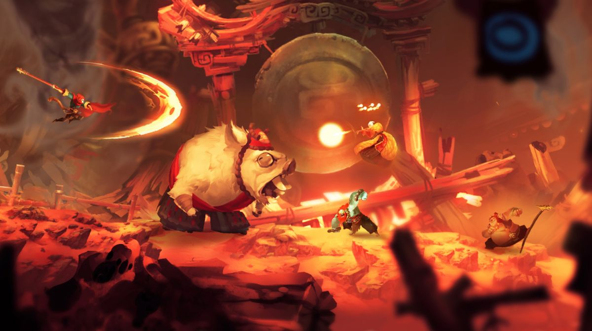 Unruly Heroes is a stunning 2D action game from former Ubisoft veterans