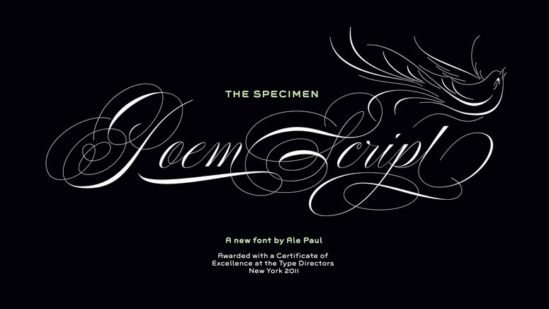 14 calligraphy fonts every designer should own rum & raisin