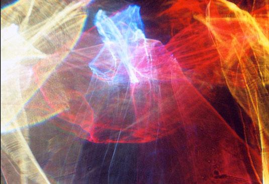 Light art: Jaras