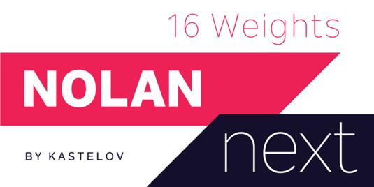 Nolan Next font