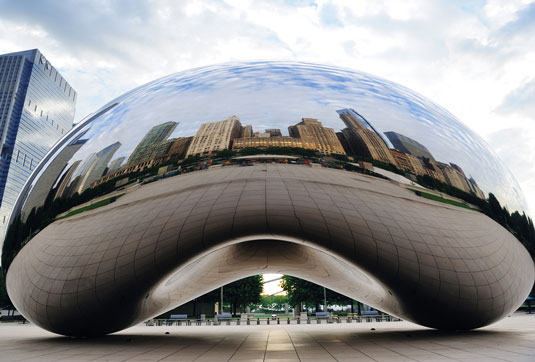 Design landmarks: Cloud Gate