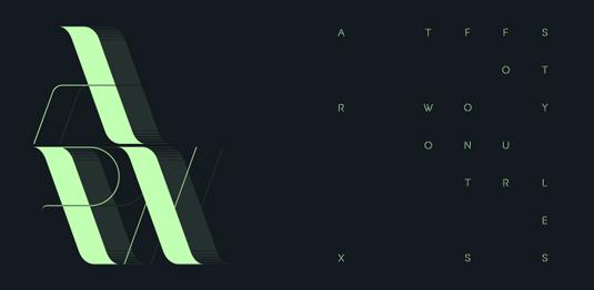 Arx font