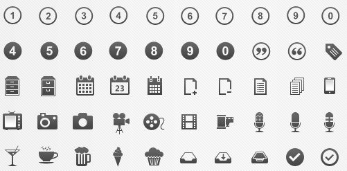 Free icons Pixel perfect