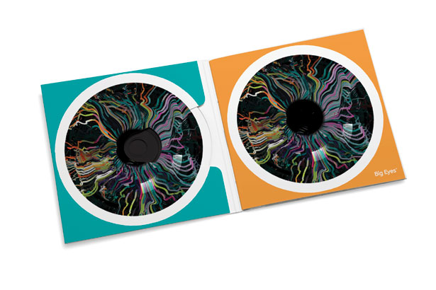 SomeOne's logo design for Big Eyes