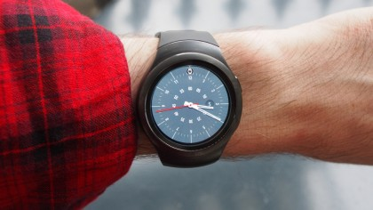 Samsung Gear S2 on wrist