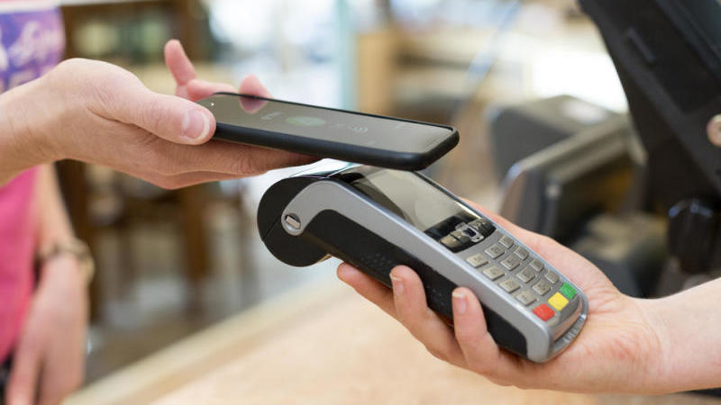 Contactless payment, mobile payment