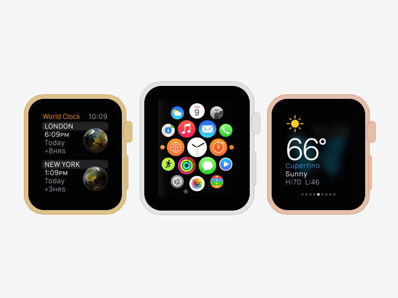 Mock up smartwatch apps with the CSS Apple Watch Generator ...