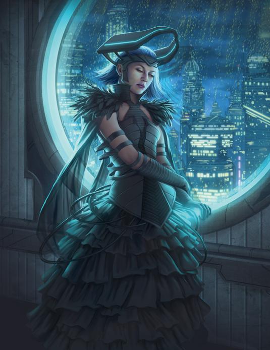 foti futuristic dress