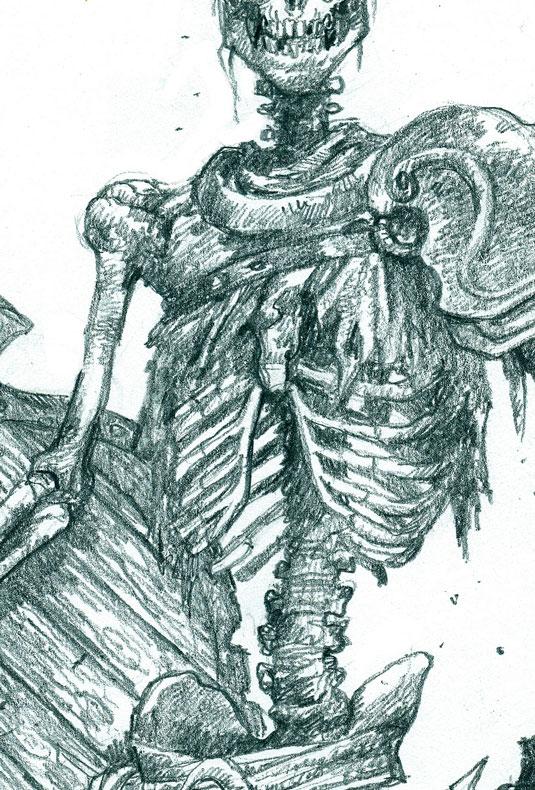 fudging the skeleton