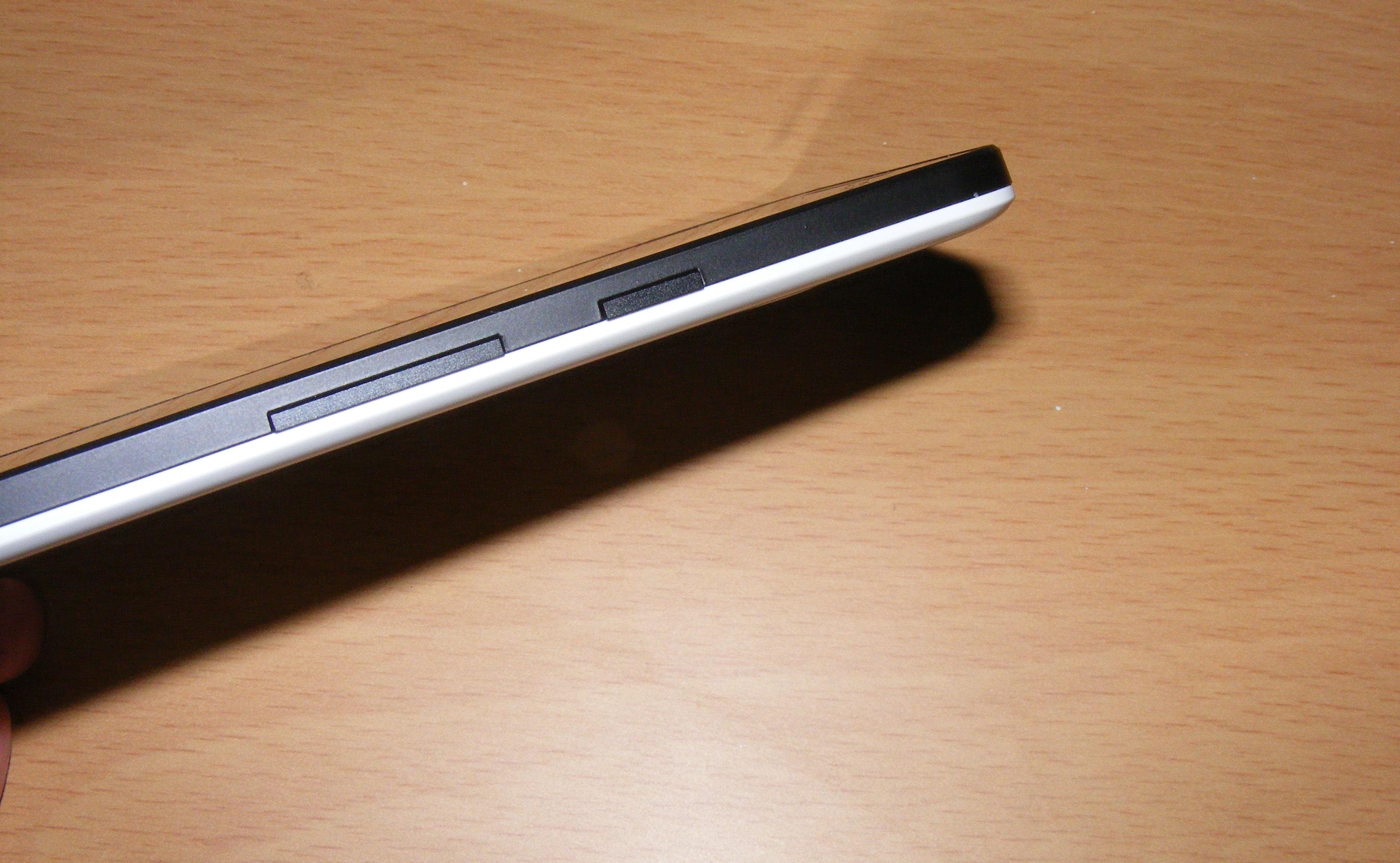 Nexus 5X buttons