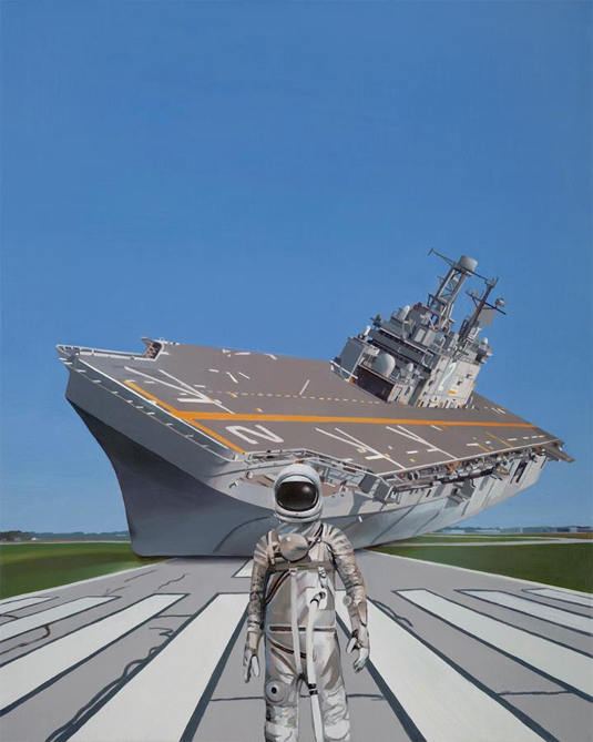 astronaut paintings