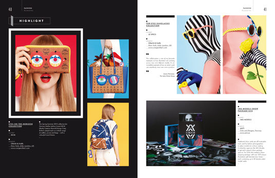 Computer Arts Collection: Illustration Annual, Fashion section