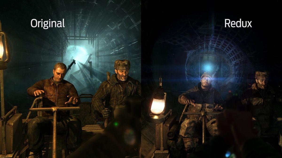 Metro 2033 Redux Comparison Video Original Vs Redux At