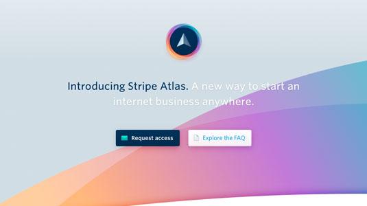 web design tools: stripe atlas