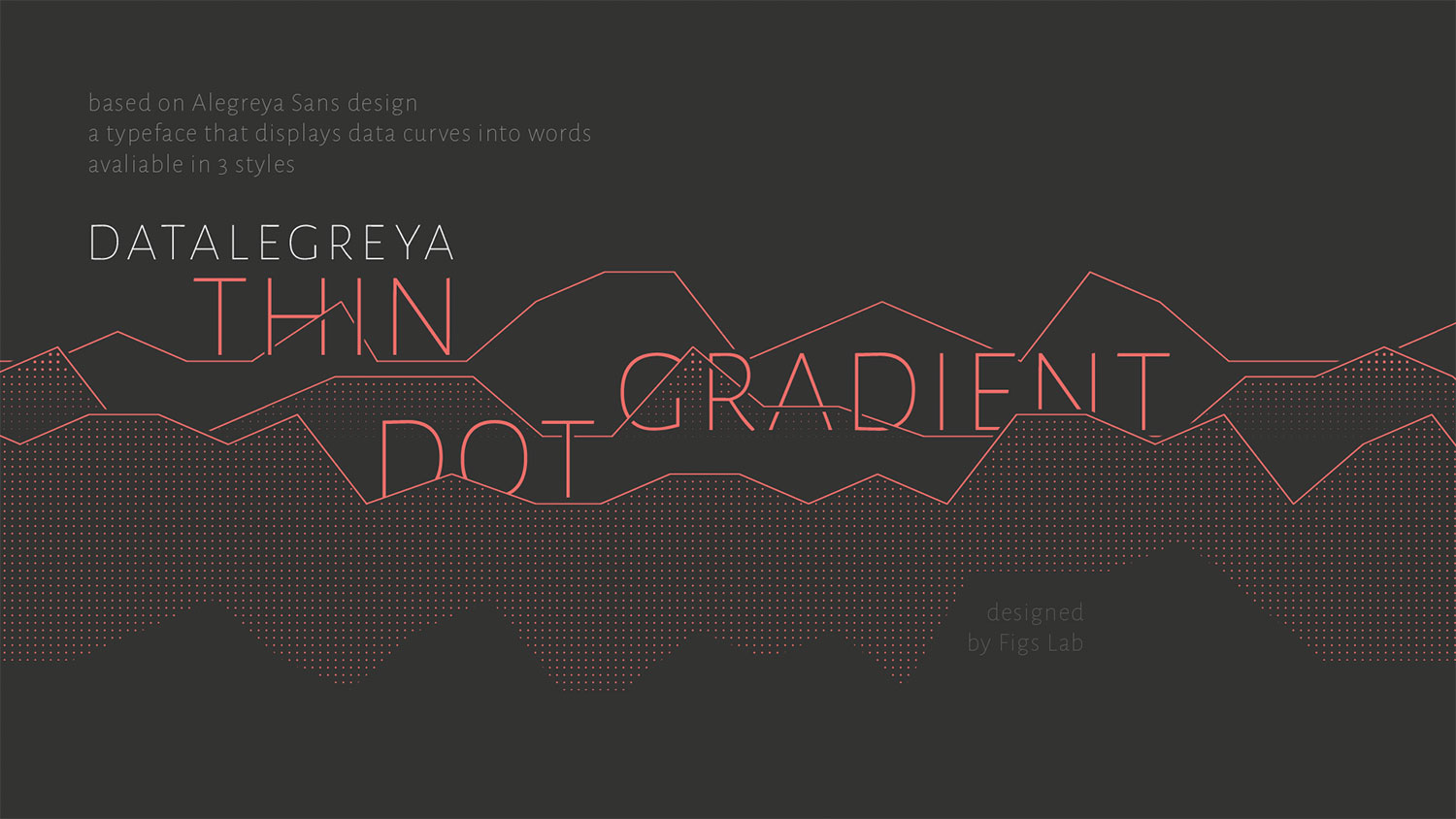 Typography meets data in this amazing free font