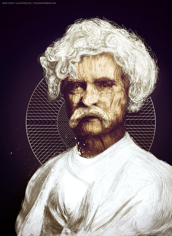 Nicolas Monin-Baroille - Mark Twain