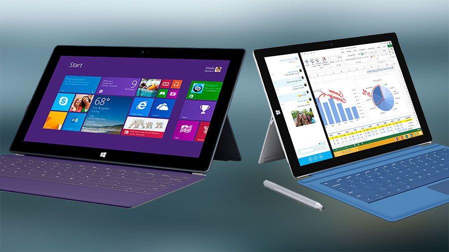 Microsoft Surface Pro 3 vs Surface Pro 2