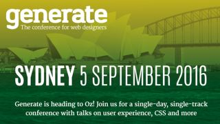 International web design conference Generate is coming to Sydney ...