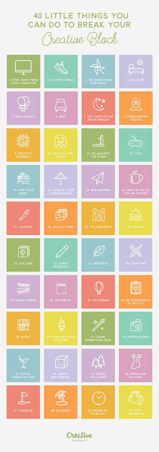 The best infographics - Break the creative block