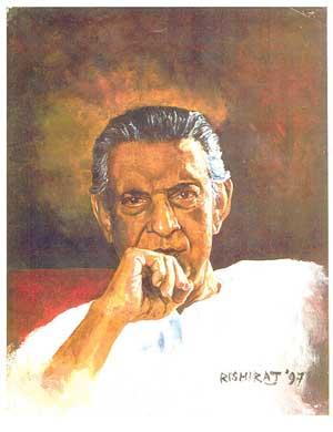 director Satyajit Ray