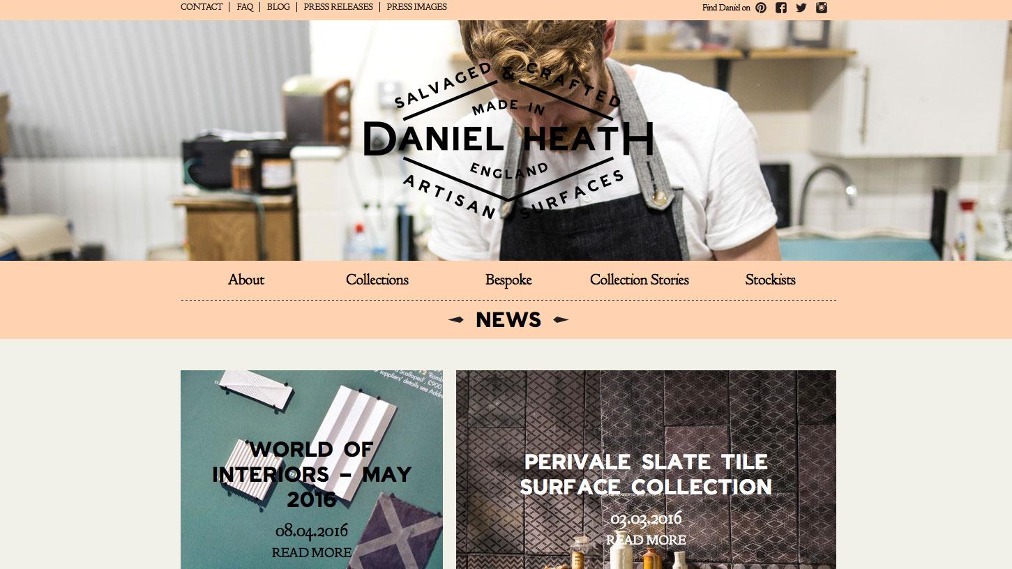Inspiring design portfolios: Dan Heath