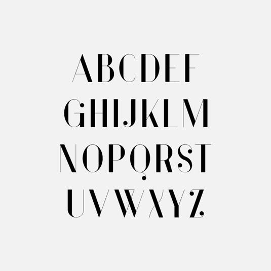 Free font: Vanity
