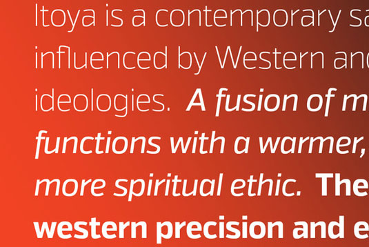 Itoya font