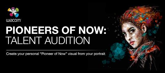 Wacom Behance talent audition