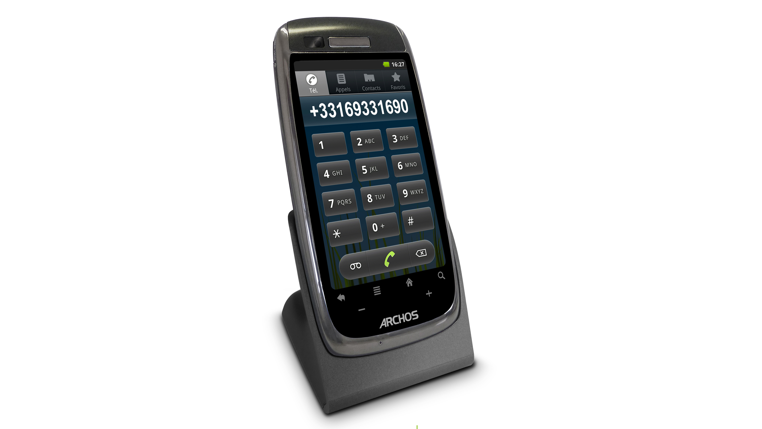 Smart House Phone archos 35 smart home phone review | techradar