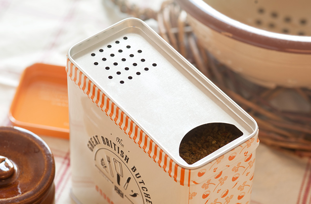 Design By Day for The Great British Butcher tin shaker