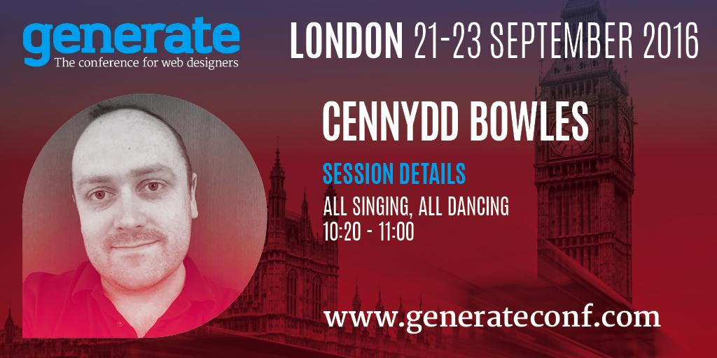Generate London - Cennydd Bowles