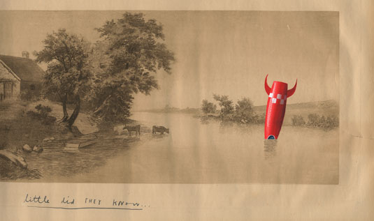 Oliver Jeffers' contribution to The Poool
